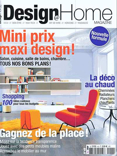 Design Home, n. 48, dicembre 2012, pag. 134
